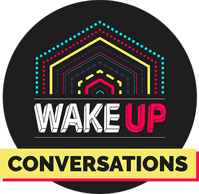 logo WAKE UP conversations