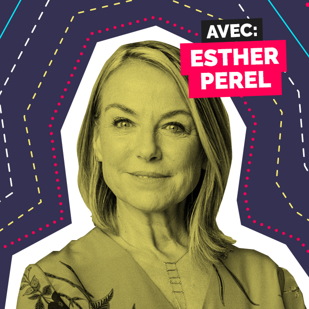 cover épisodes wake up conversations podcast Esther Perel